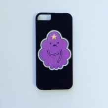 Пластиковый чехол Adventure Time для iPhone 5/5S Lumpy Space Princess
