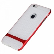 Rock Royce Transparent для iPhone 6/6s Red